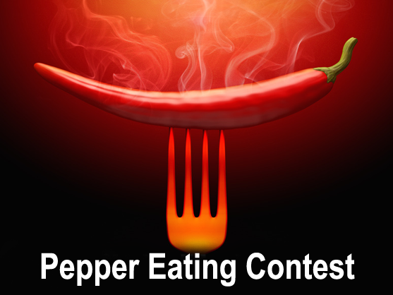 pepper eating contest